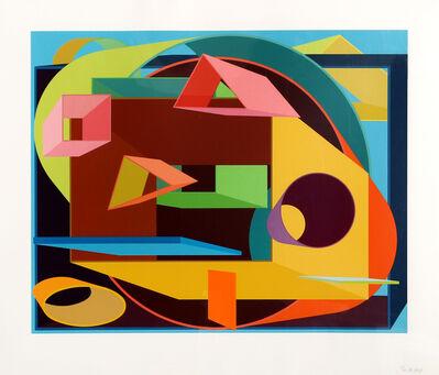 Al Held, 'Scholes II', 1991
