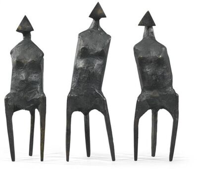 Lynn Chadwick, 'Three Standing Figures', 1987