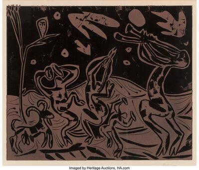 Pablo Picasso, 'Les danseurs au Hibou', 1959