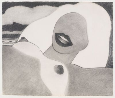 Tom Wesselmann, 'Drawing for Great American Nude #73', 1965