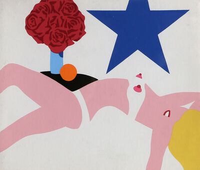 Tom Wesselmann, 'Great American Nude (From Banner)', 1968