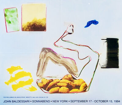 John Baldessari, 'John Baldessari at Sonnabend Gallery New York: 1994 exhibition poster ', 1994