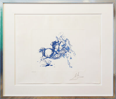 Salvador Dalí, 'Cavalier (ultramarin)', 1971