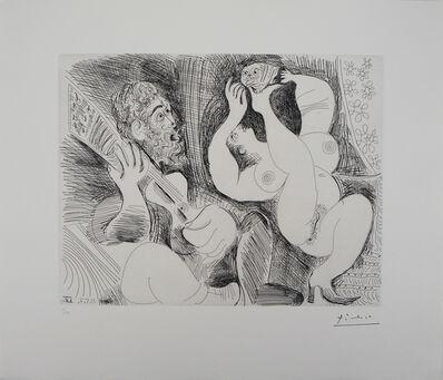 Pablo Picasso, 'Dancer, Musician and a Owl', 1881-1973