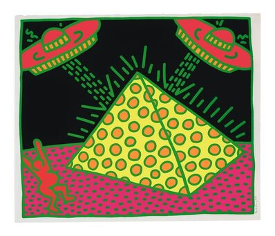 Keith Haring, 'Plate II, from Fertility Suite', 1983