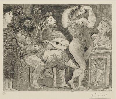 Pablo Picasso, 'EN LA TAVERNA. AU CABARET', 1934