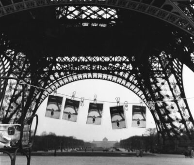 Sabine Weiss, 'Cartes Postales Tour Eiffel', 1955