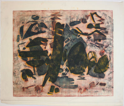 Abraham (Abe) Hankins, 'Abstract Composition', 1961