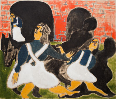 Darby Milbrath, 'Black Horse', 2016