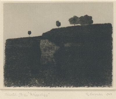 Gunnar Norrman, 'Klippvaag (Cliff Face)', 1969