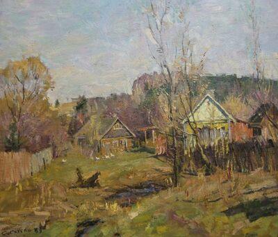 Sergey Mikhaylovich Skubko, 'Spring', 1989
