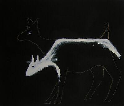 Vija Doks, 'Deer in the Headlights', 2009