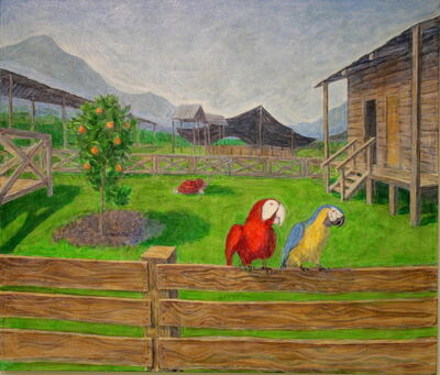 Konstantinas Gaitanži, 'The Town That Jones Has Built', 2019