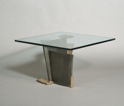 Gary Magakis, 'Bronze and Steel Sculptural Low Table', 2015