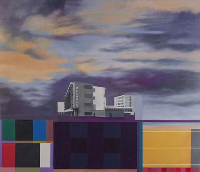 Julie Langsam, 'Gropius Landscape: Bauhaus', 2014