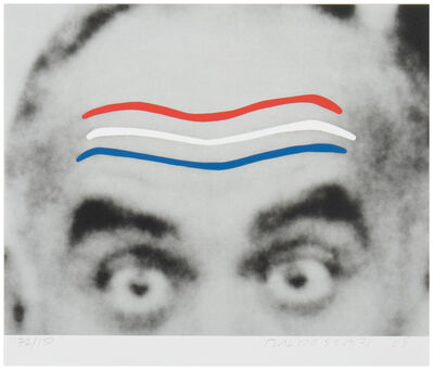John Baldessari, 'Raised Eyebrows/Furrowed Foreheads', 2008