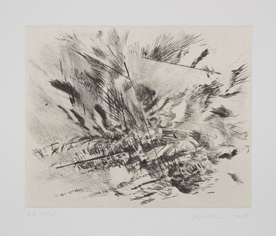 Julie Mehretu, 'Untitled (Grey Area)', 2009