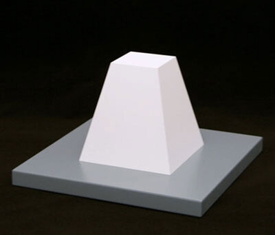 Sol LeWitt, 'Flat Topped Pyramid', 2005