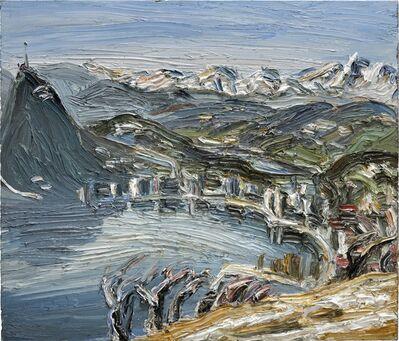 Christopher Lehmpfuhl, 'Frühjahrslicht Am Monte Bré', 2015