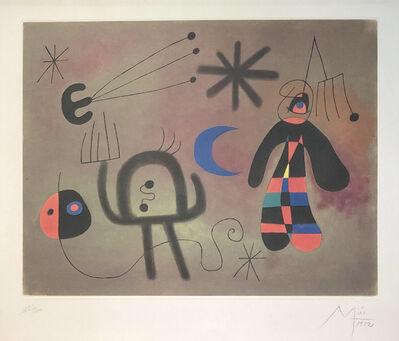Joan Miró, 'Efter', 1952