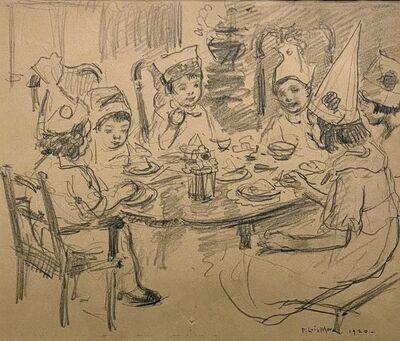 Francis Luis Mora, 'Birthday', ca. 1910
