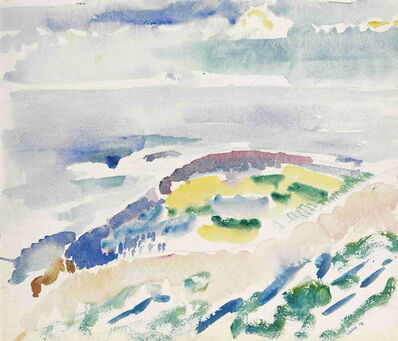 John Marin (1870-1953), 'The Coast', 1914