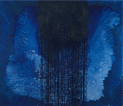 Barbara Takenaga, 'Blue (A)', 2019