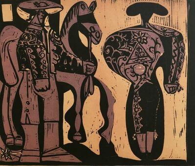 Pablo Picasso, 'Picador and Torero', ca. 1980
