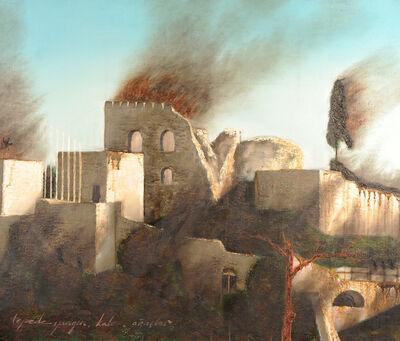 Erhan Özışıklı, 'Fire, castle, trees on the hill', 2013