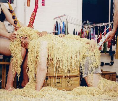 Olaf Breuning, 'Spaghettisheep', 2005