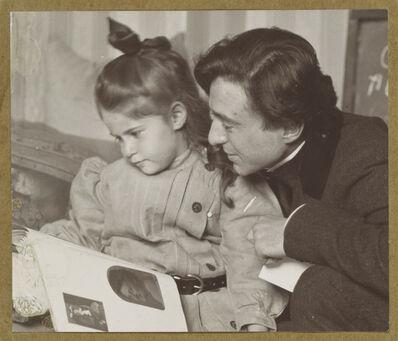Alfred Stieglitz, 'Daughter Kitty Stieglitz and Edward Steichen', c. 1905
