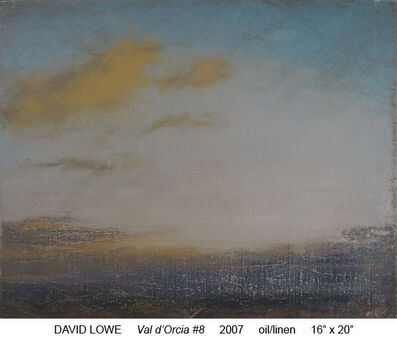 David Lowe, 'Val d'Orcia', 2007
