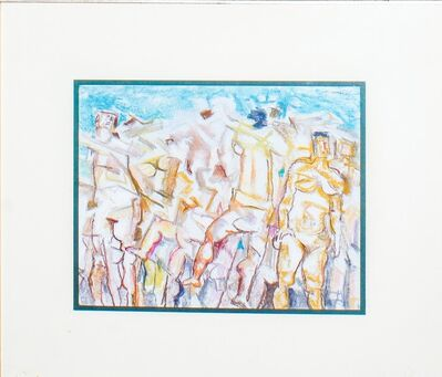 Fausto Pirandello, 'Bagnanti Cubisti'