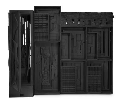Louise Nevelson, 'Dream House Wall II', 1960-1980