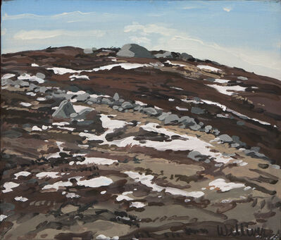 Neil G. Welliver, 'Study for Barren with Snow', 1989