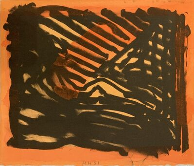 Howard Hodgkin, 'Red Eye', 1980-1981