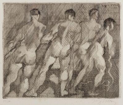 Jacques Villon, 'Les Haleurs', 1930