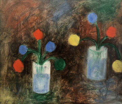 Jan Müller, 'Double Flowers', 1957