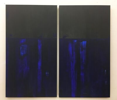 Monica Perez, 'MOONLIGHT (Diptych)', 2020