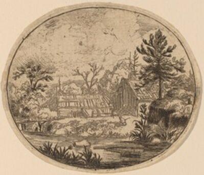 Allart van Everdingen, 'Hamlet at the Bank of a River', probably c. 1645/1656
