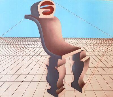 Arnold Belkin, 'Silla escultórica [Chair Sculpture]', 1973