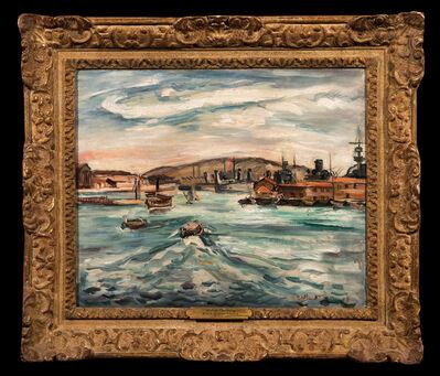 Achille Emile Othon Friesz, 'Port de Cherbourg', 1929