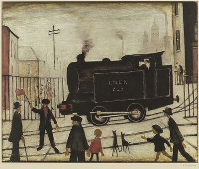 Laurence Stephen Lowry, 'The Level Crossing'