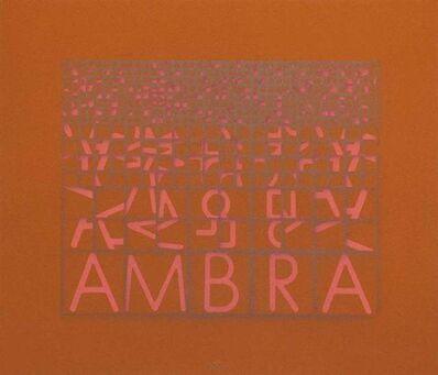 Paola Di Bello, 'Ambra (Amber)', ca. 1980