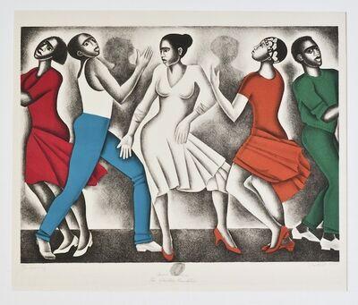 Elizabeth Catlett, 'Dancing', 1990