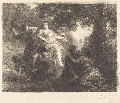 Henri Fantin-Latour, 'Pastoral', 1896