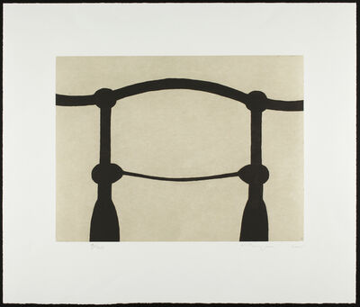 Martin Puryear, 'Shoulders (State 2)', 2005