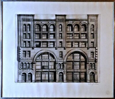 Richard Haas, '484-90 Broome Street  -First State (Charles Cowles Collection)', 1970