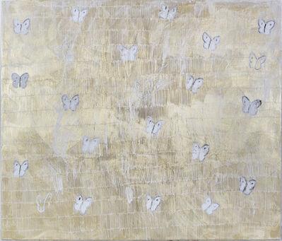 Hunt Slonem, 'White Annunciation (EL00148)', 2016