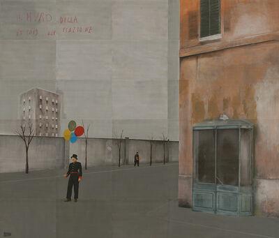 Paolo Ventura, 'Il muro della stazione', 2019